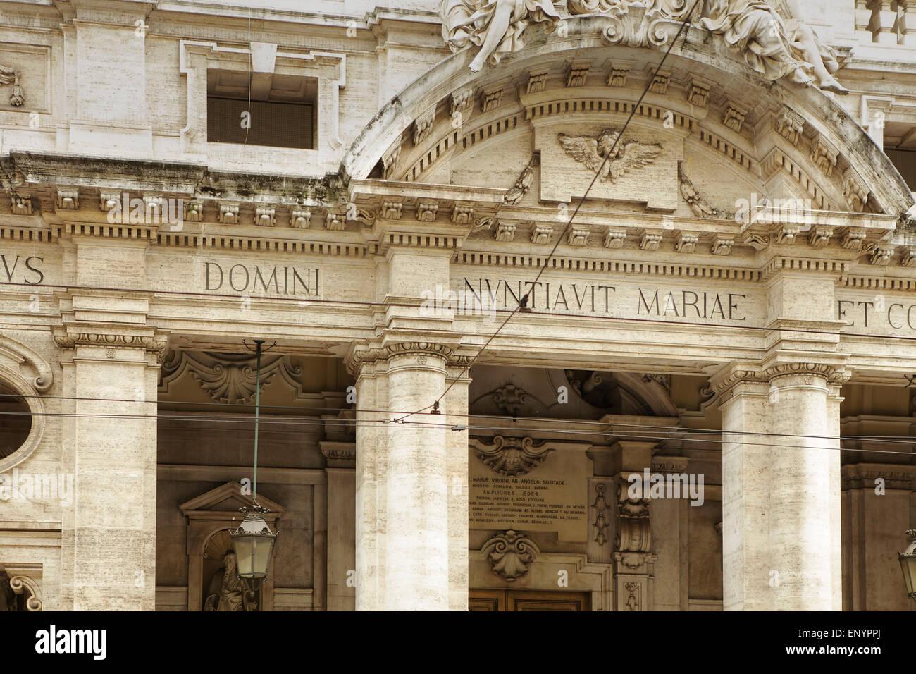 Ornate building in Turin, Italy Stock Photo