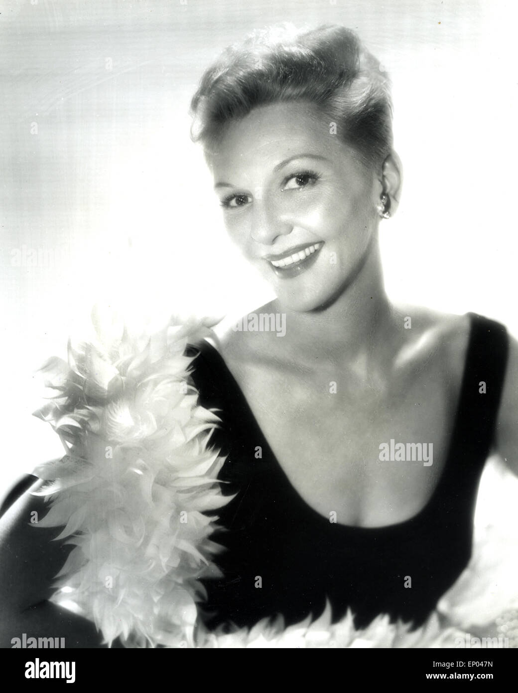 Mary Martin leaning