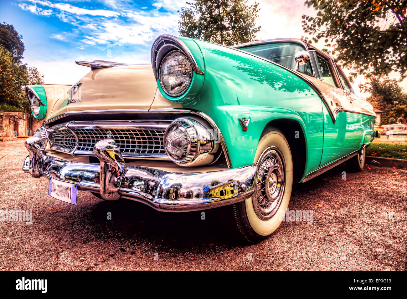 Ford Crown Victoria 1965, great american vintage car Stock Photo ...