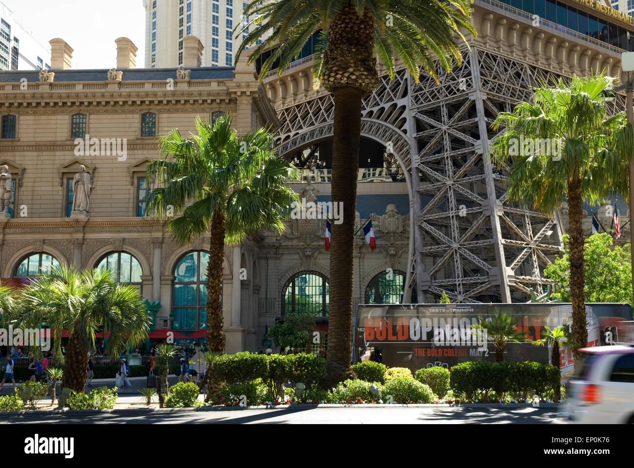 Paris Hotel and Casino Las Vegas Nevada USA - Stock Image