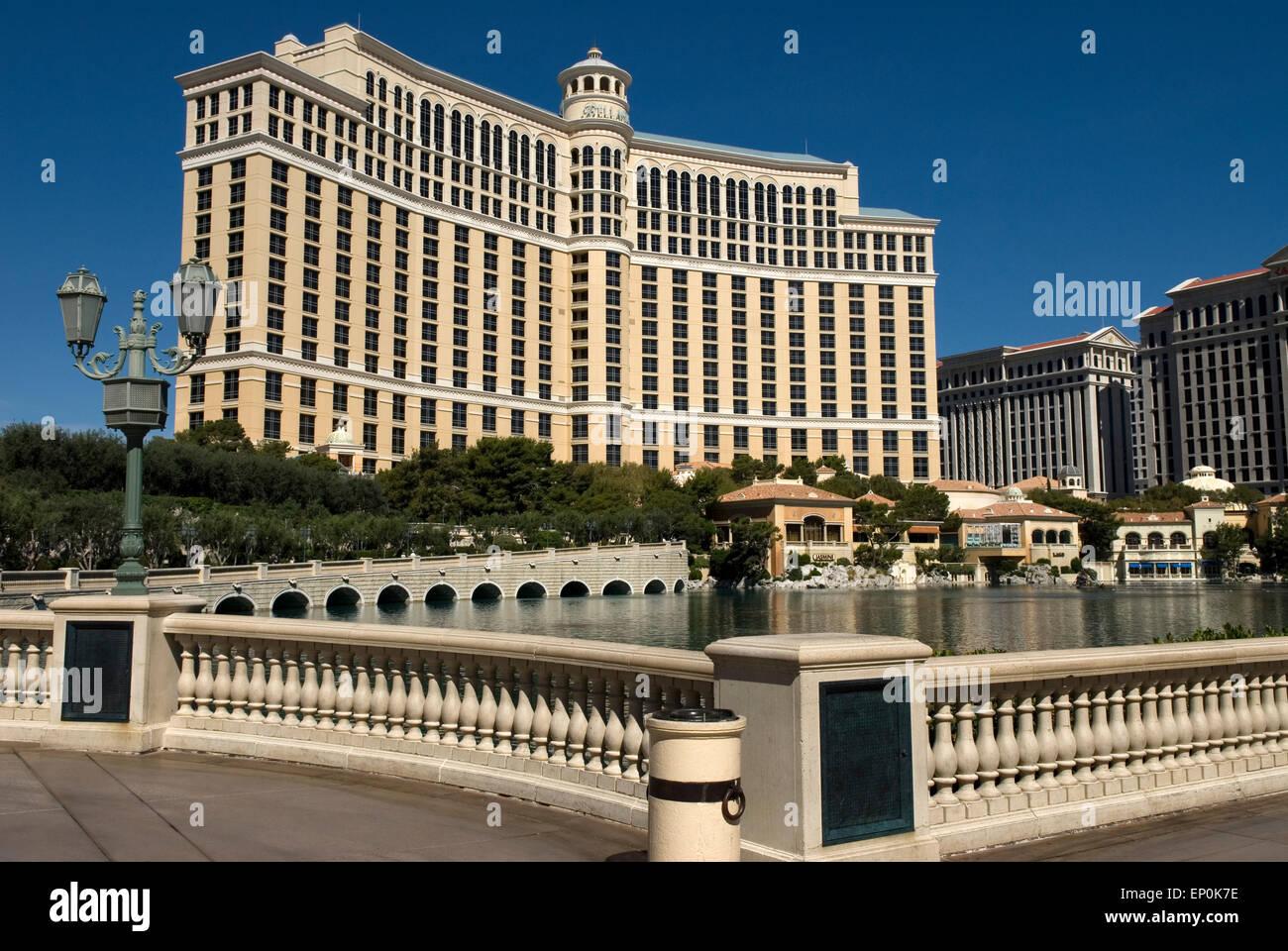 Bellagio Las Vegas Nevada USA - Stock Image
