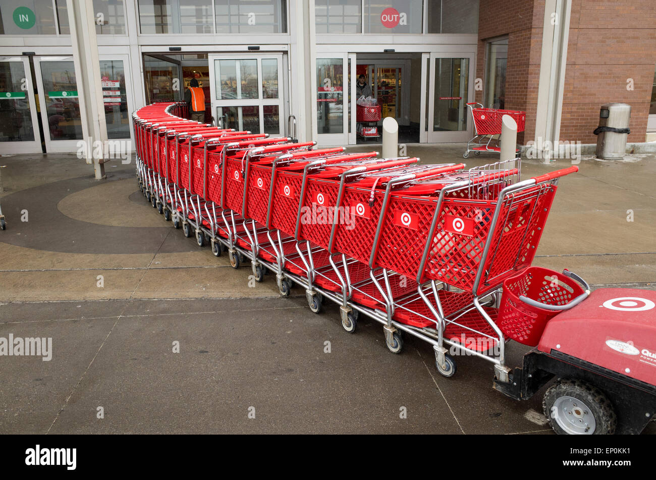target shopping cart stock photos target shopping cart stock images alamy. Black Bedroom Furniture Sets. Home Design Ideas