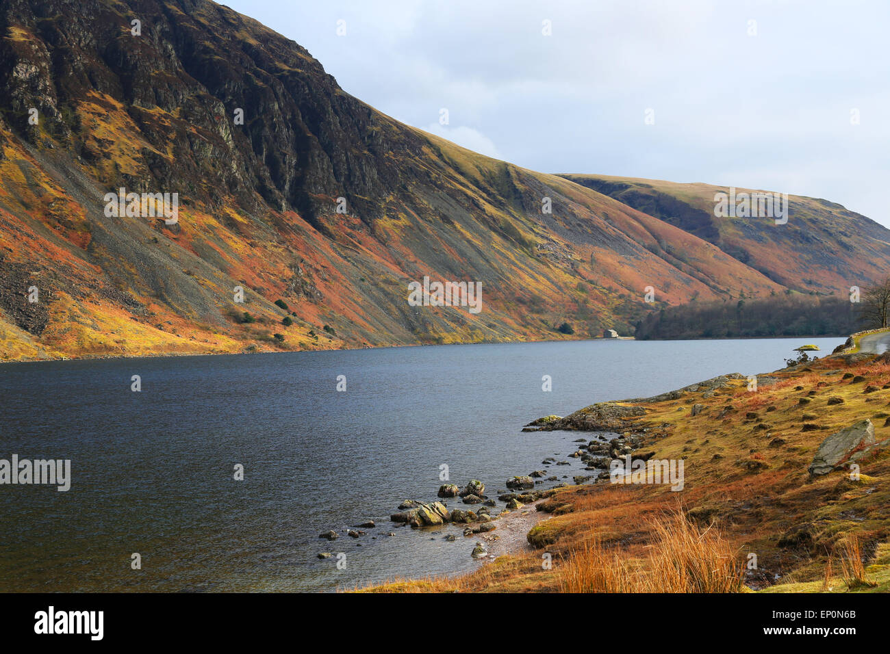 Wast water in Lake District, UK - Stock Image