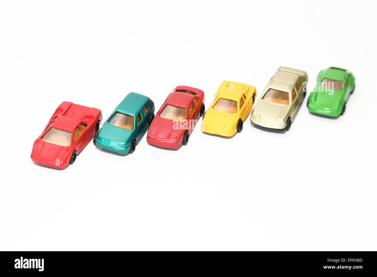 Toy cars - Stock Image