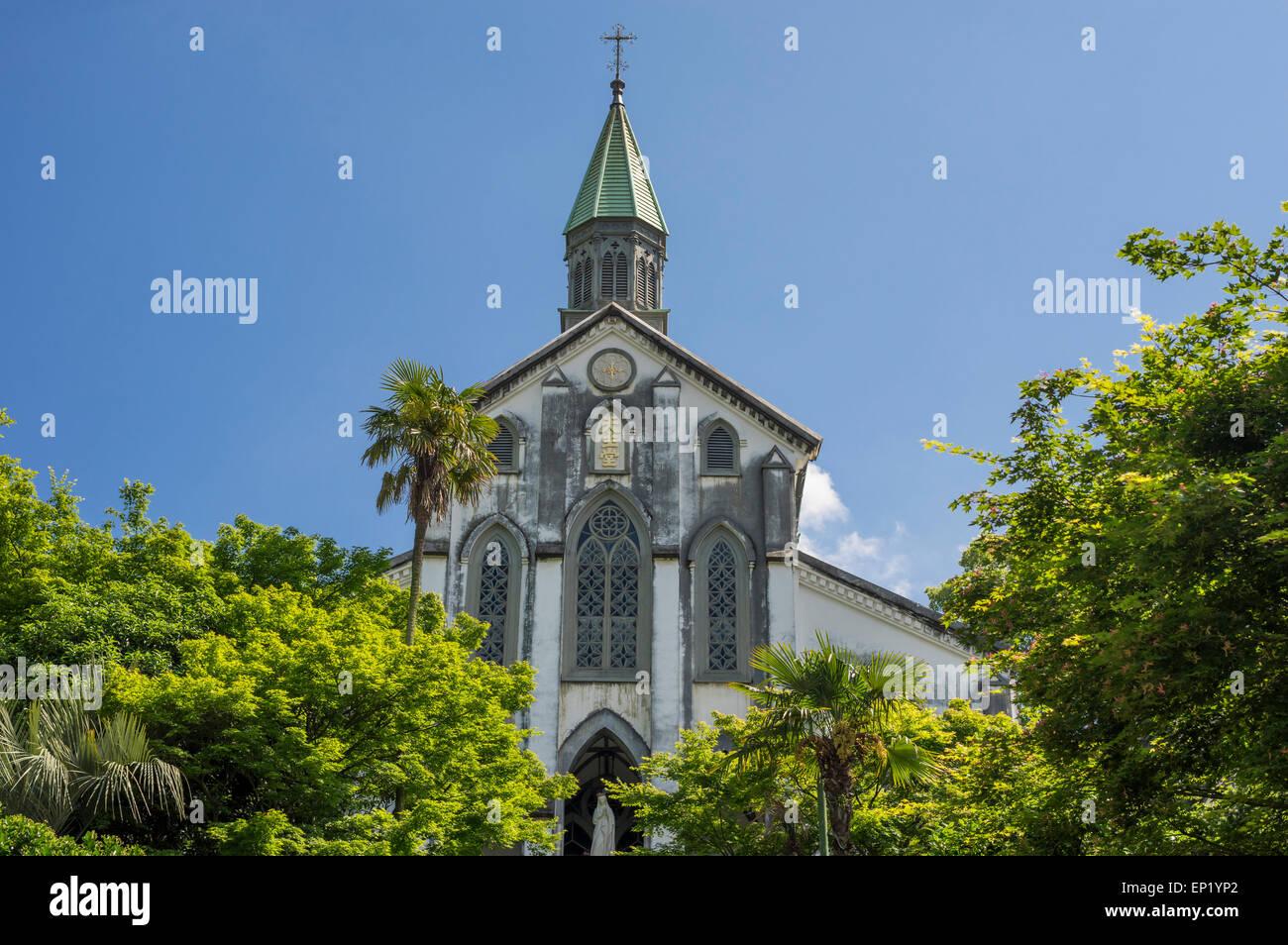 Oura Catholic Church, Nagasaki, Japan - Stock Image