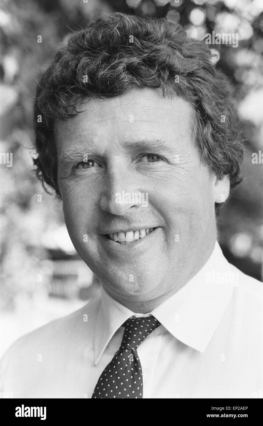 James Whitaker the Daily Mirror's Royal Correspondent 9th September 1982 - Stock Image