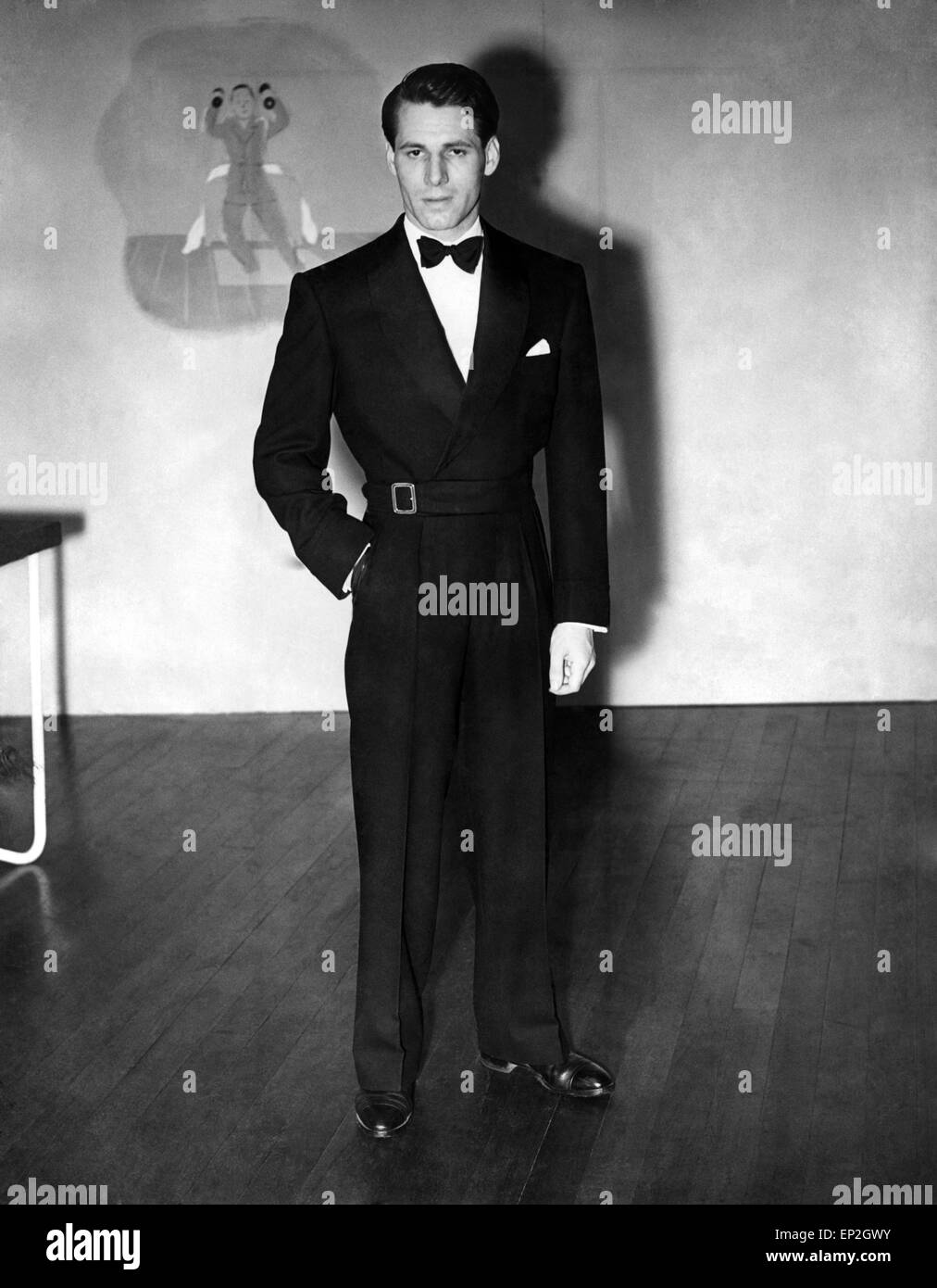 Clothing Fashion Menswear Dinner And Eveningwear Exhibition Of Stock Photo Alamy