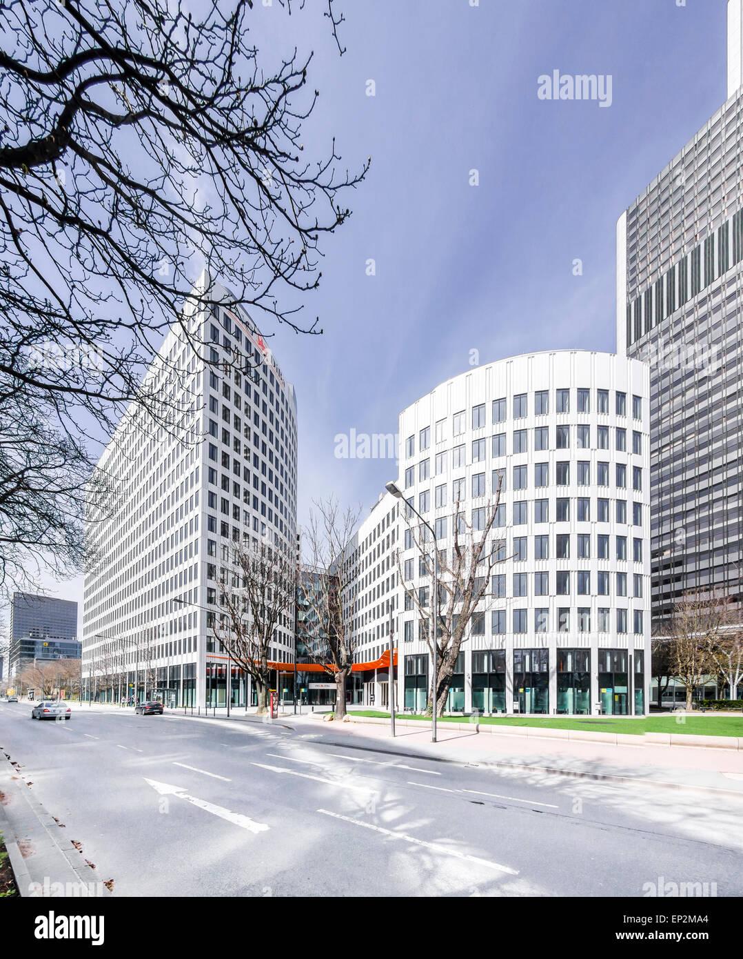 Germany, Frankfurt, headquarters building of ING DiBa - Stock Image