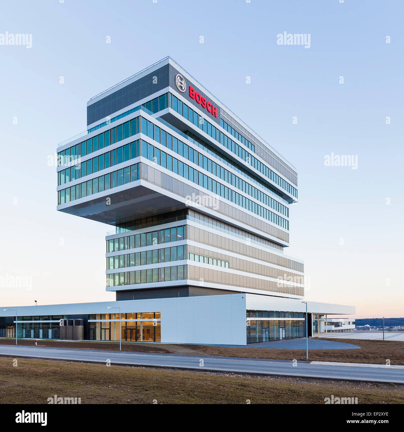 Germany, Renningen, Center for Research and Advance Development - Stock Image