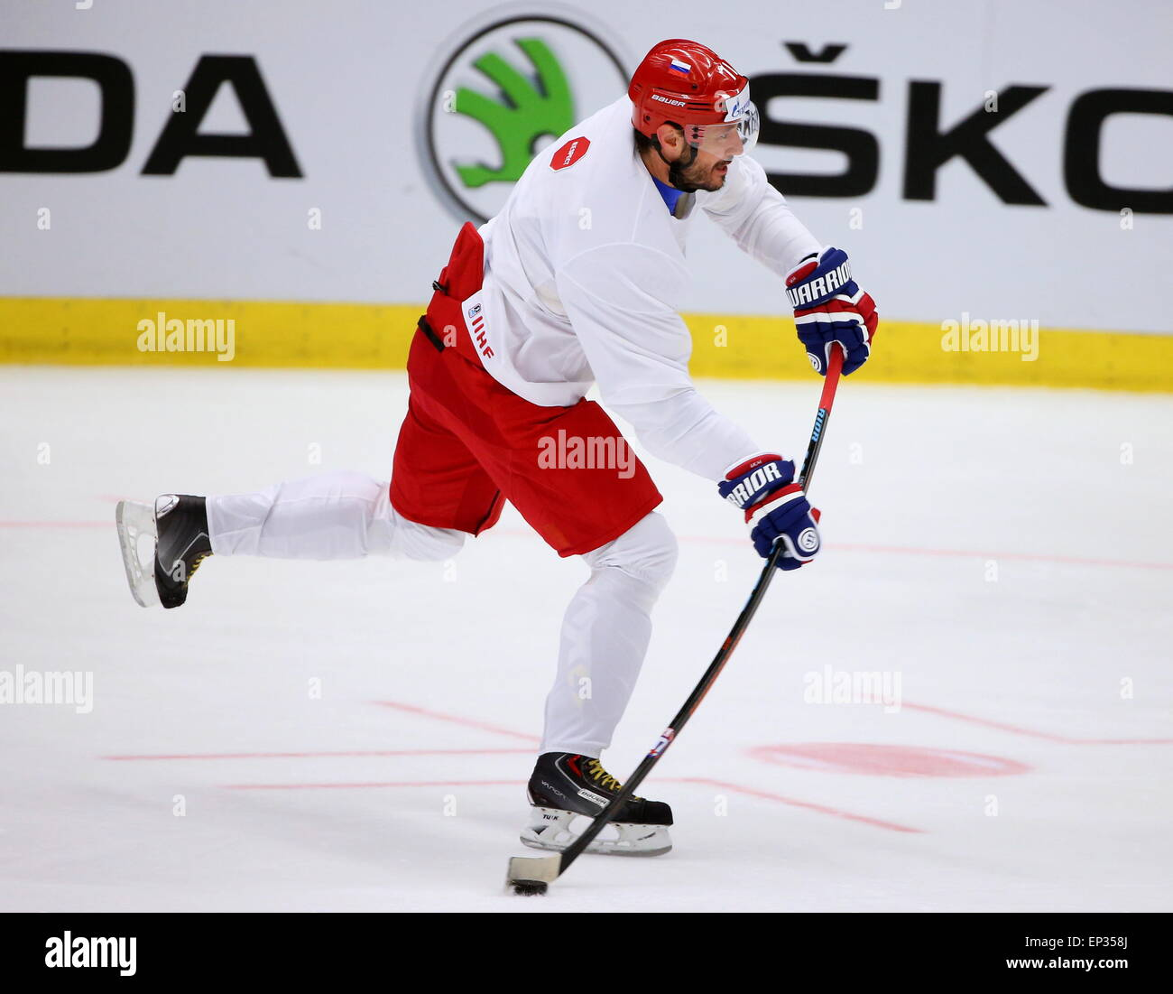 Ostrava, Czech Republic. 13th May, 2015. Ilya Kovalchuk, forward of the Russian men's national ice hockey team, - Stock Image
