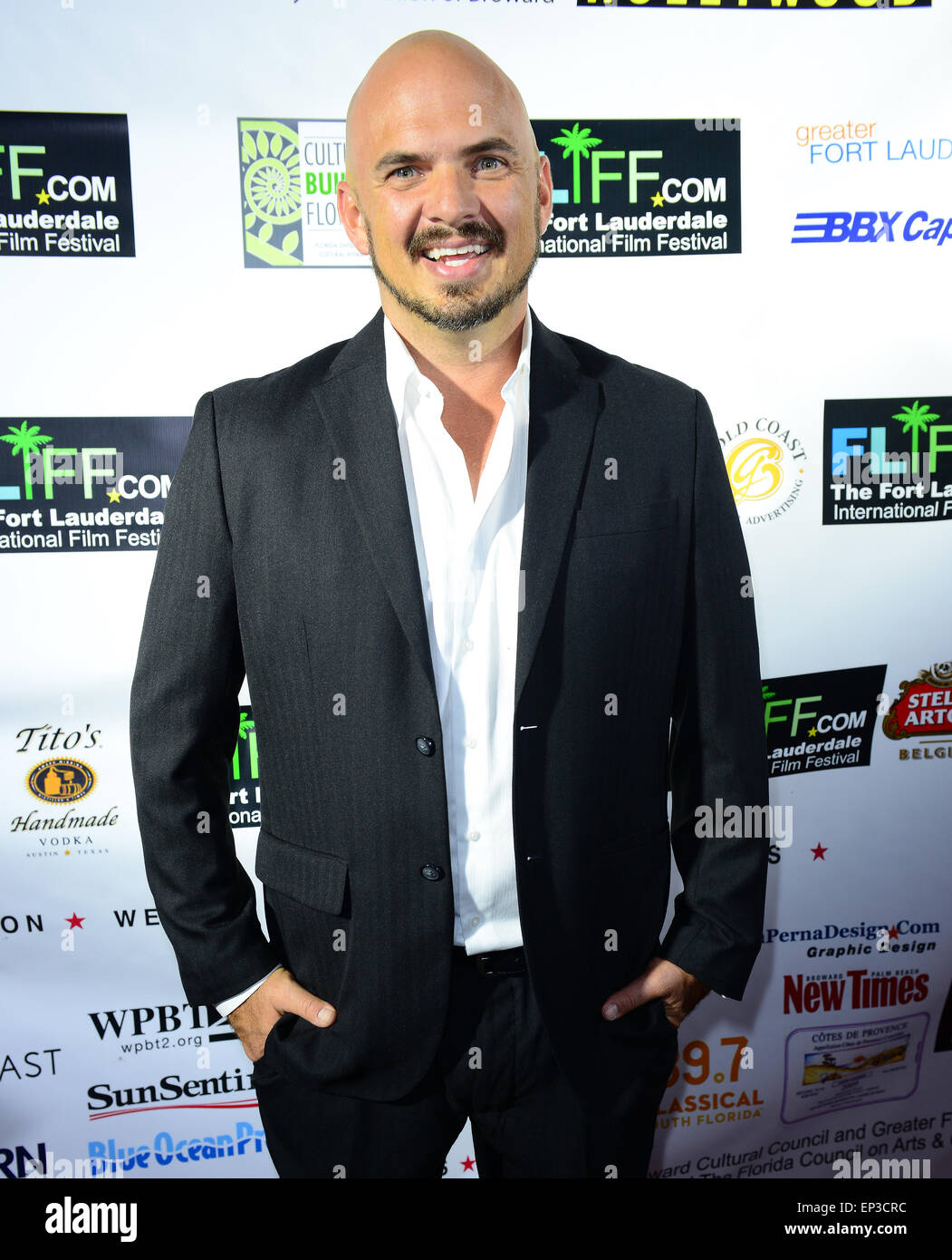 The 29th Annual Fort Lauderdale International Film Festival - Opening Ceremony  Featuring: Kel Thompson Where: Fort Stock Photo