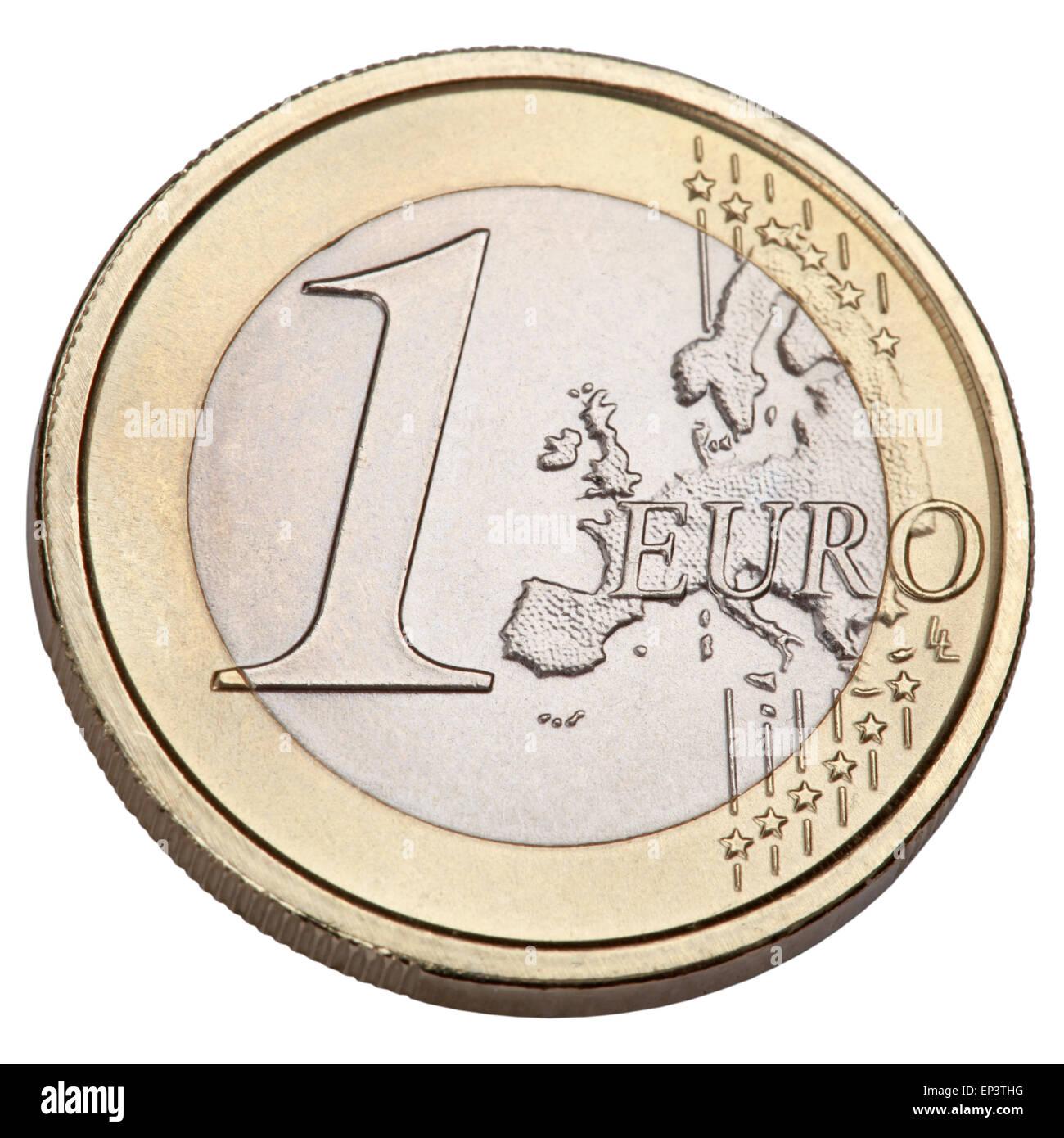 1 Euro - Stock Image