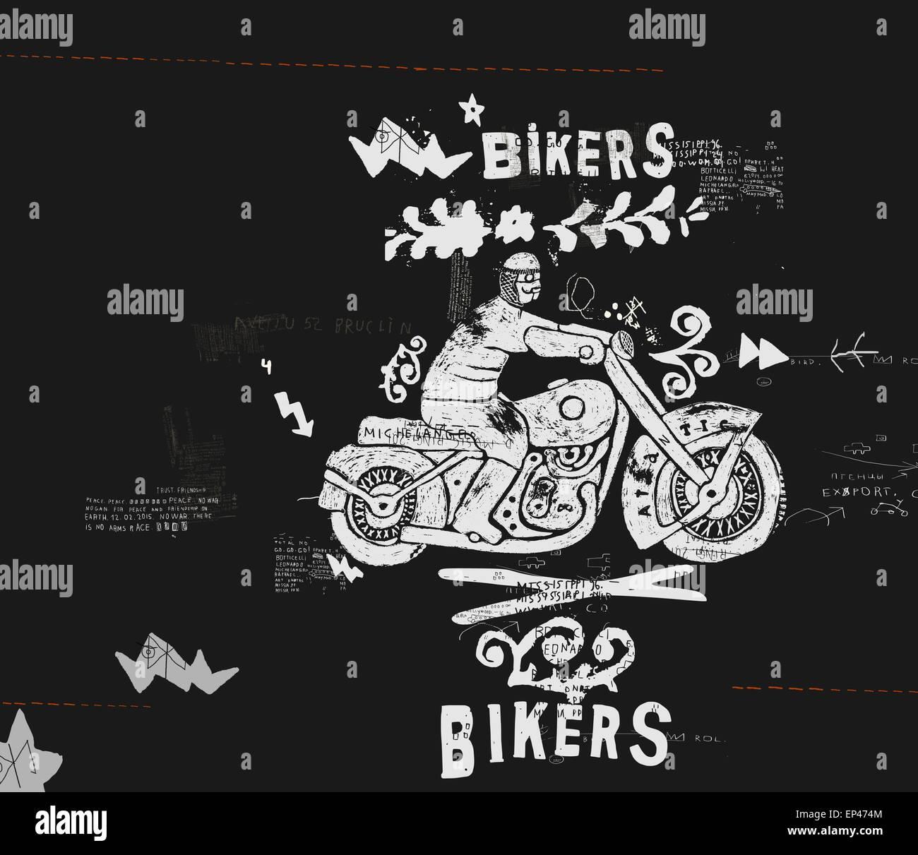 Motorcycle - Stock Image