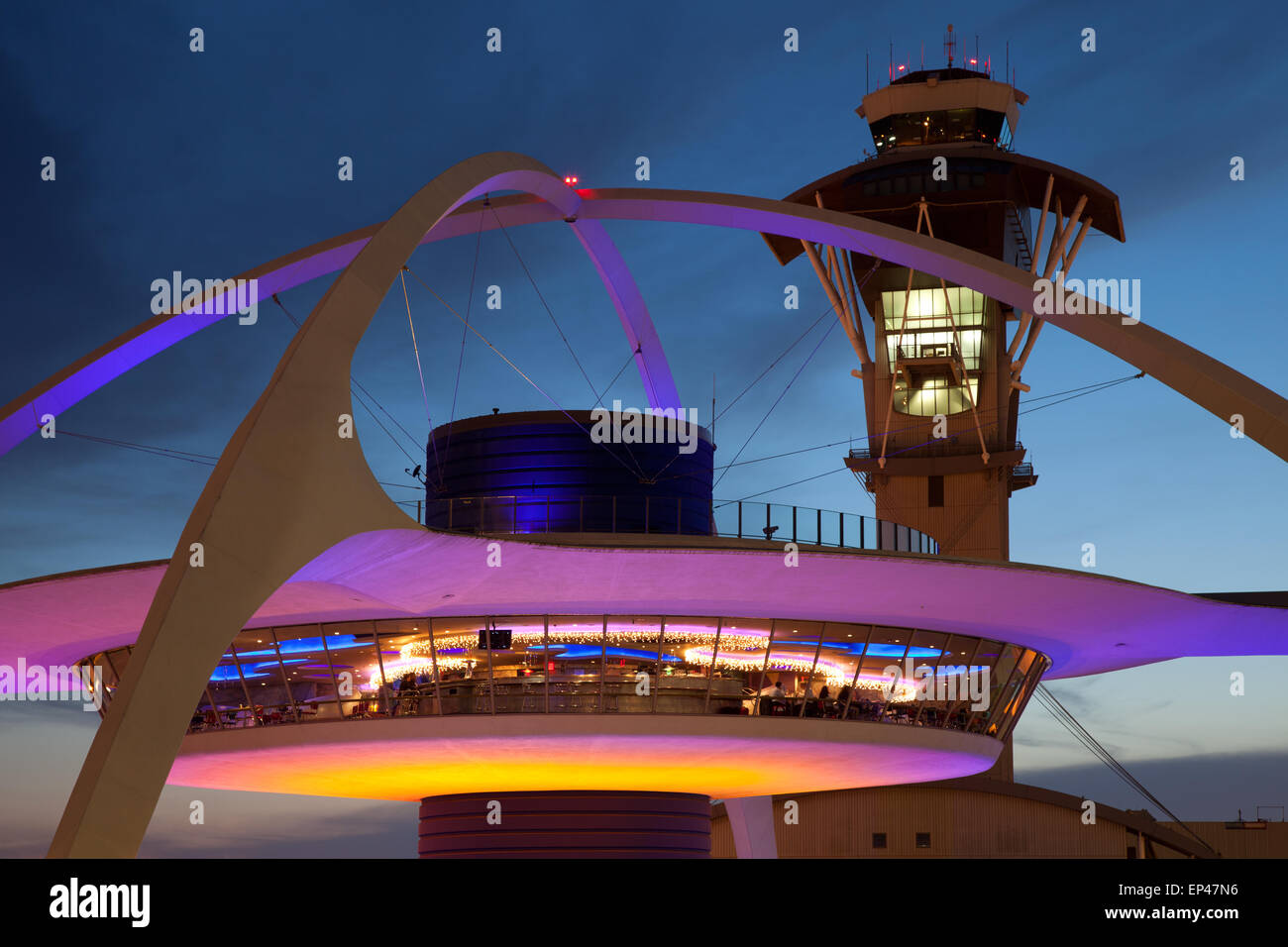 Los Angeles International Airport LAX - Stock Image