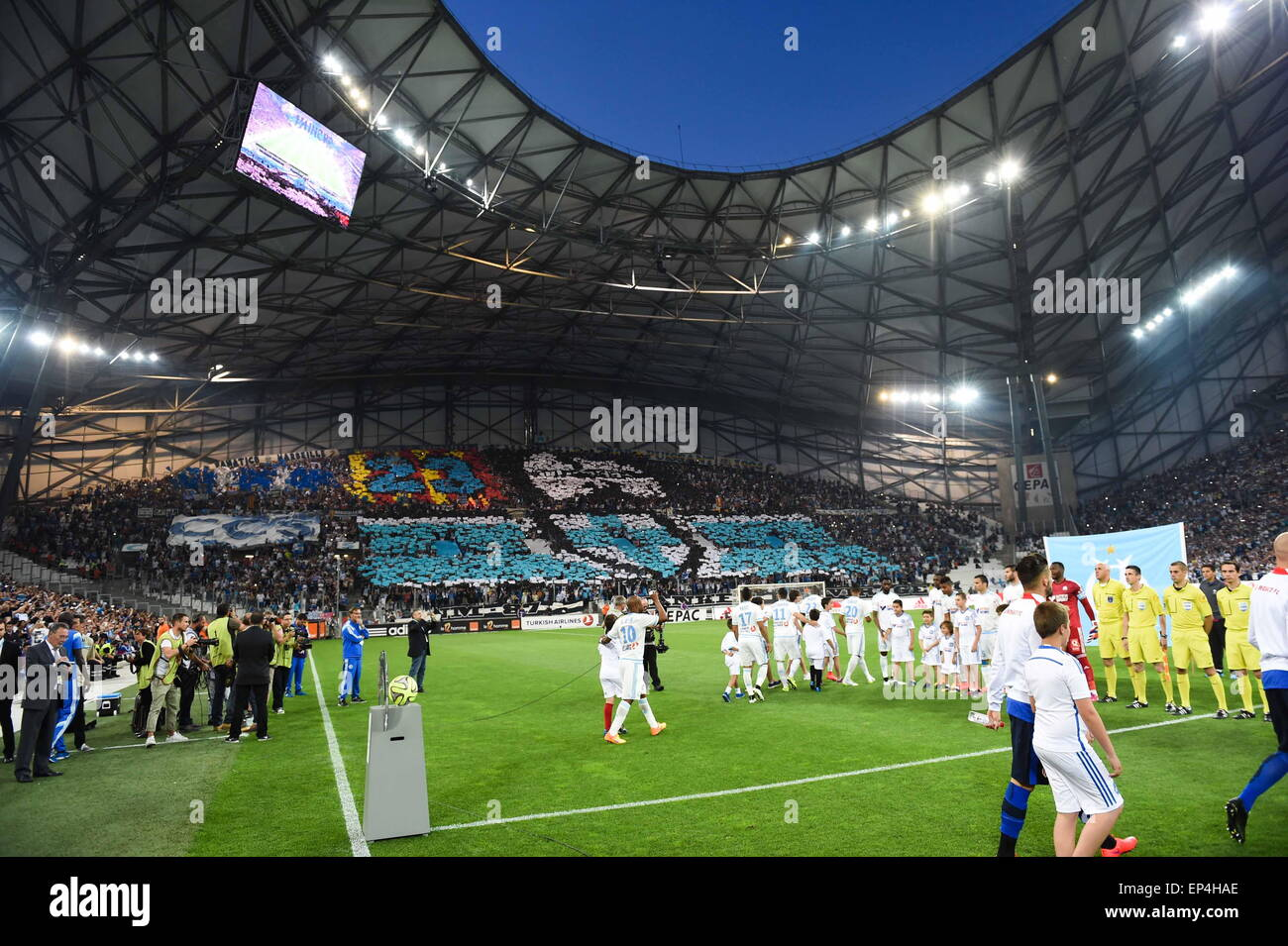 Stade Velodrome - 10.05.2015 - Marseille / Monaco - 36eme journee de Ligue 1.Photo : Alexandre Dimou / Icon Sport - Stock Image