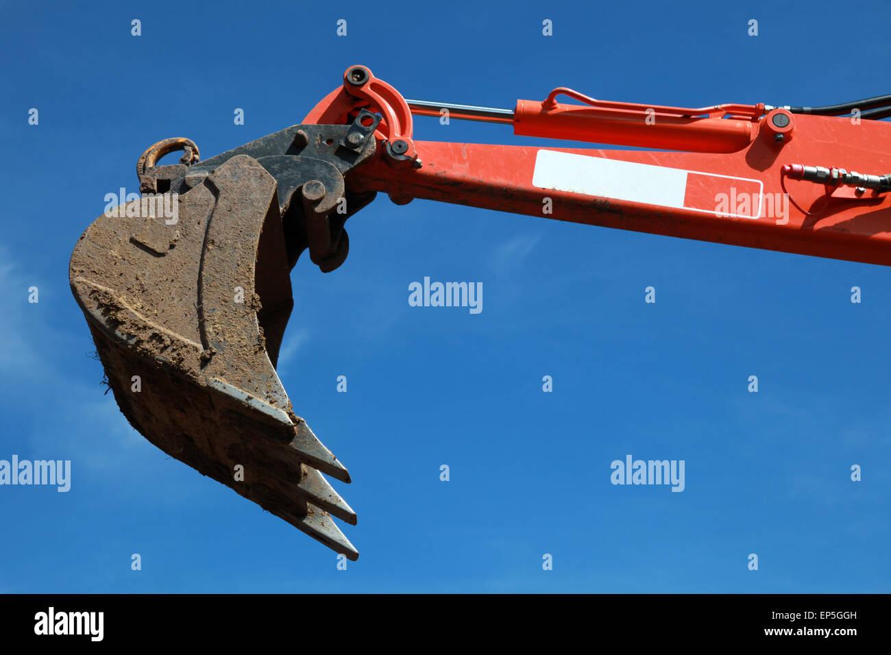Baggerschaufel - Stock Image