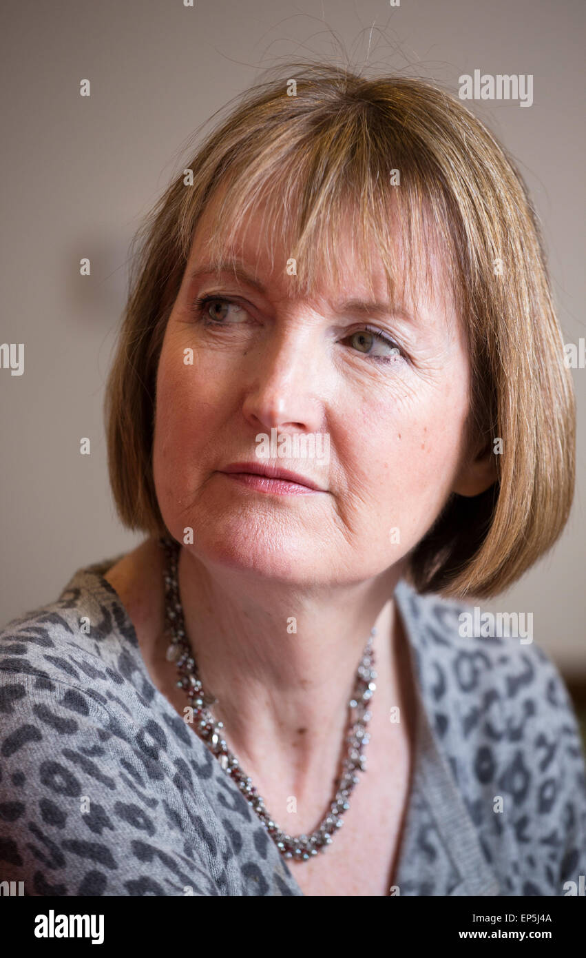 Harriet Harman, acting leader of the Labour Party. - Stock Image