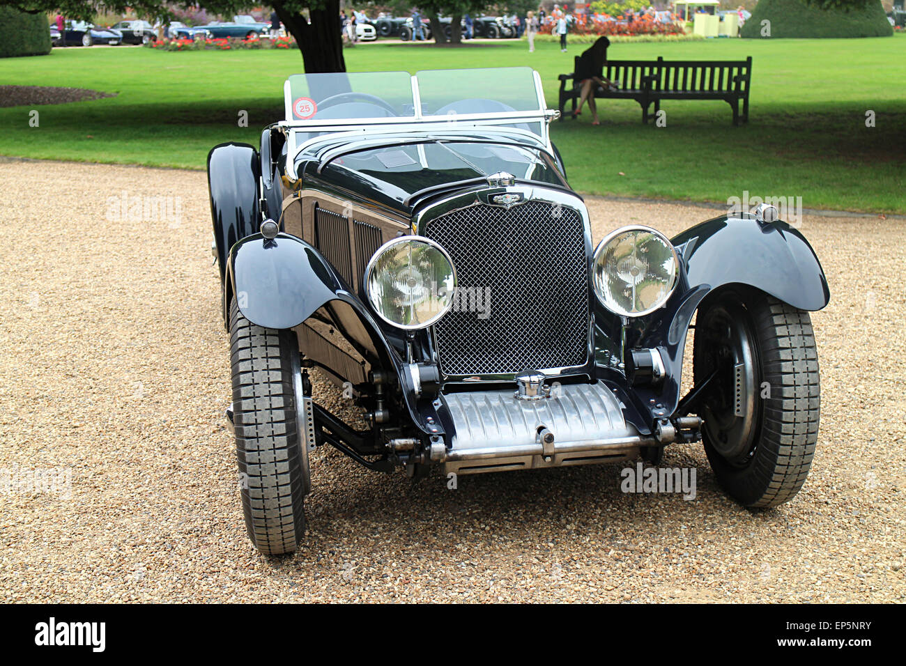 1934 Triumph Dolomite 8C SS at Concours of Excellence 2014 Hampton Court - Stock Image