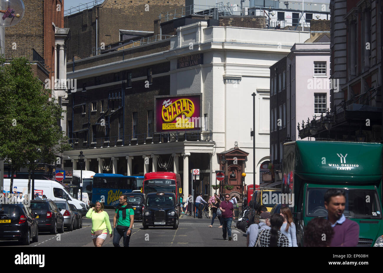 Theatre Royal, Drury Lane, playhouse - Stock Image