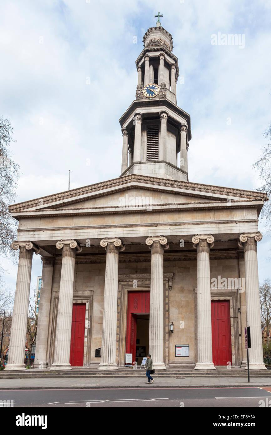 St Pancras Church, London, England, UK - Stock Image