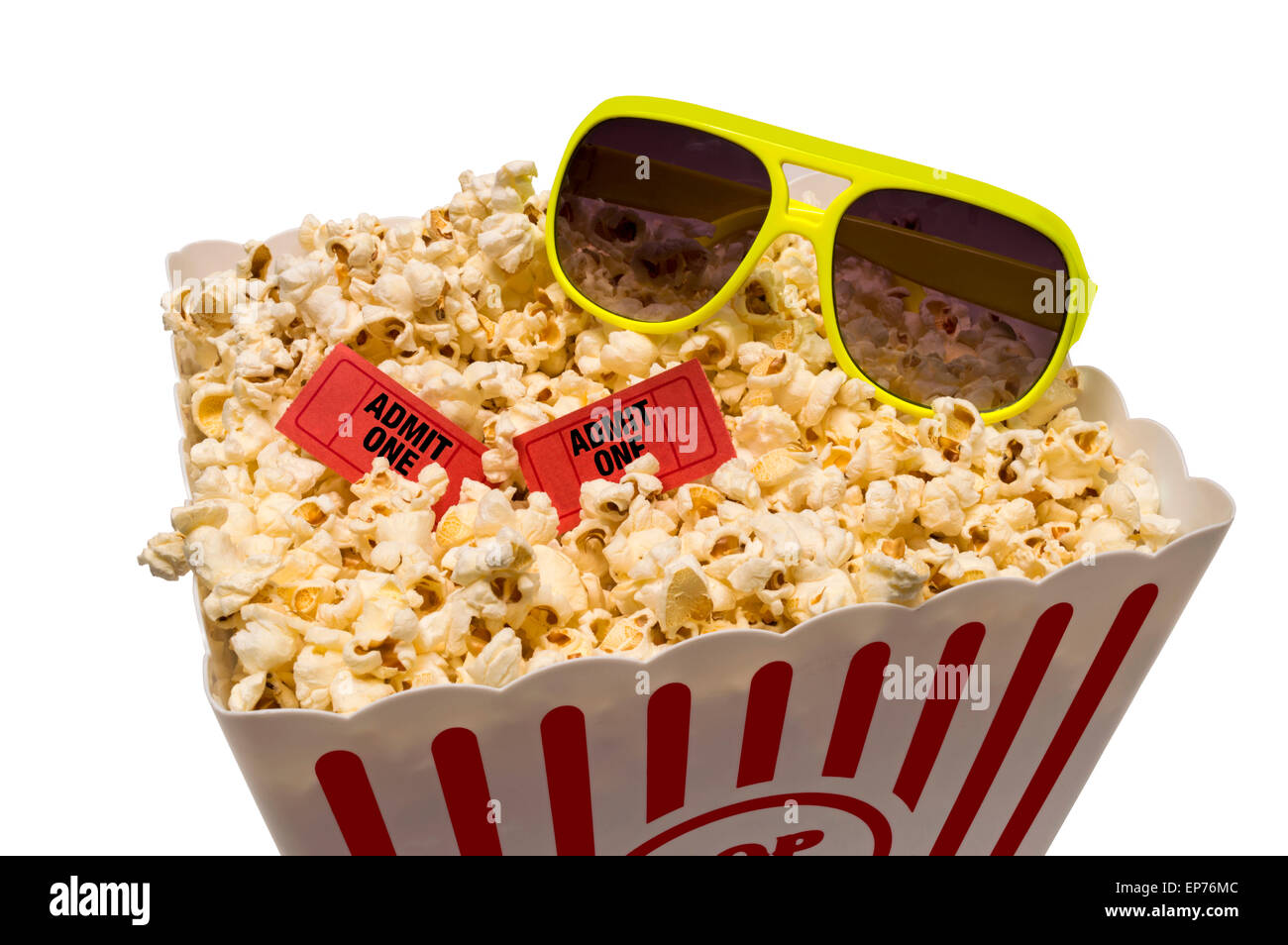 Summertime Fun At The Movies - Stock Image