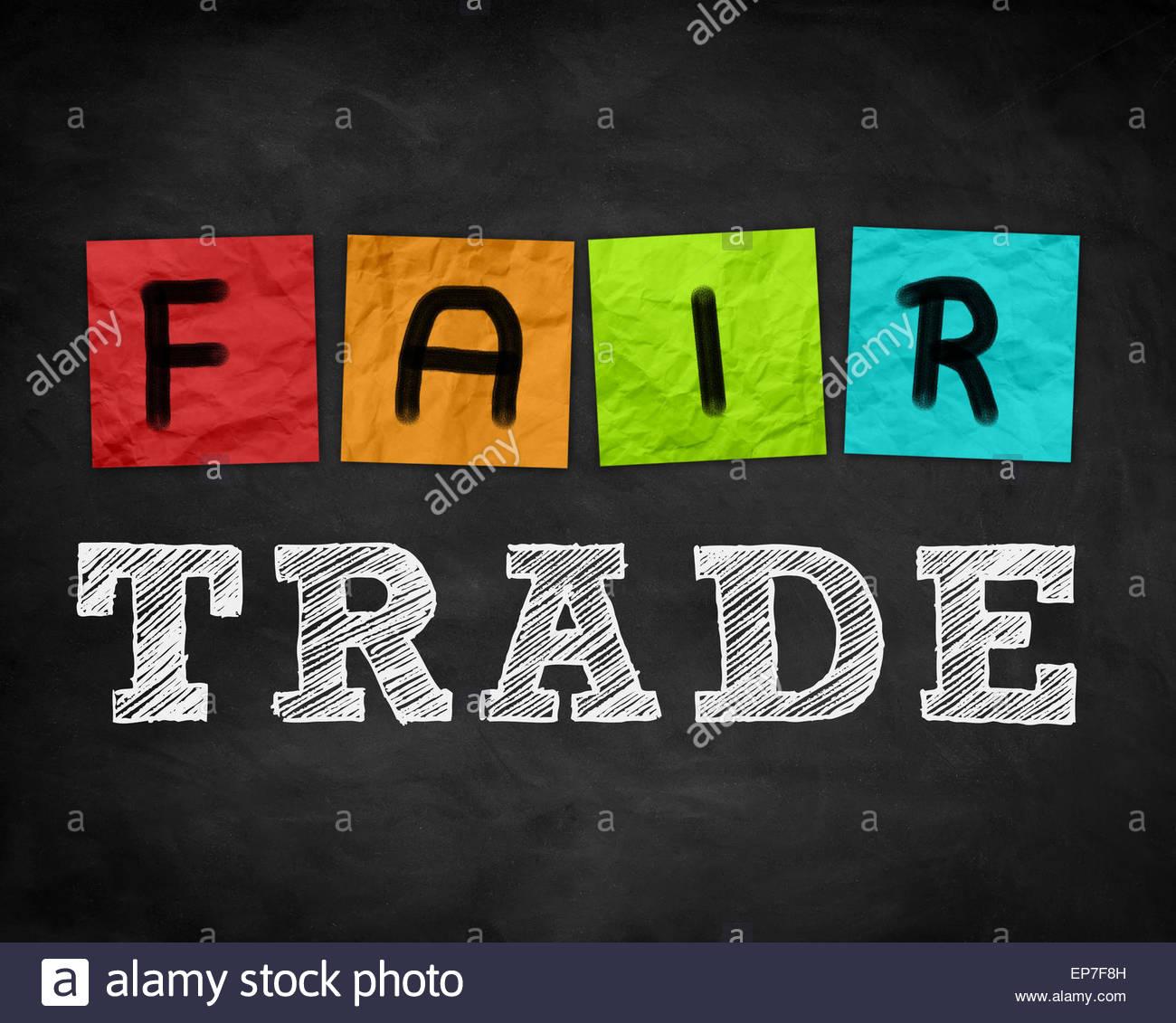 Fair Trade - Stock Image