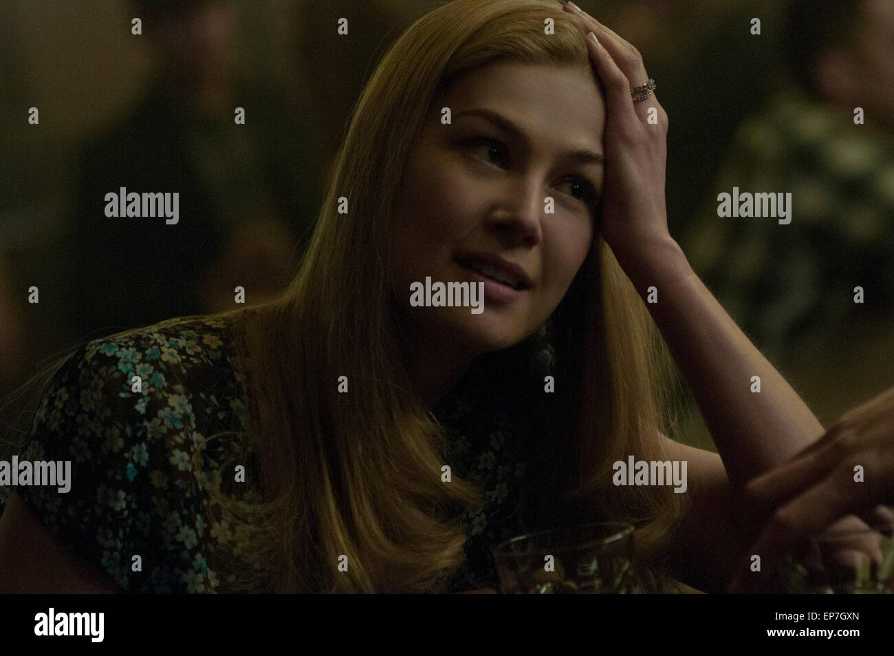 Gone Girl is a 2014 American psychological thriller film directed by David Fincher and adapted by Gillian Flynn - Stock Image