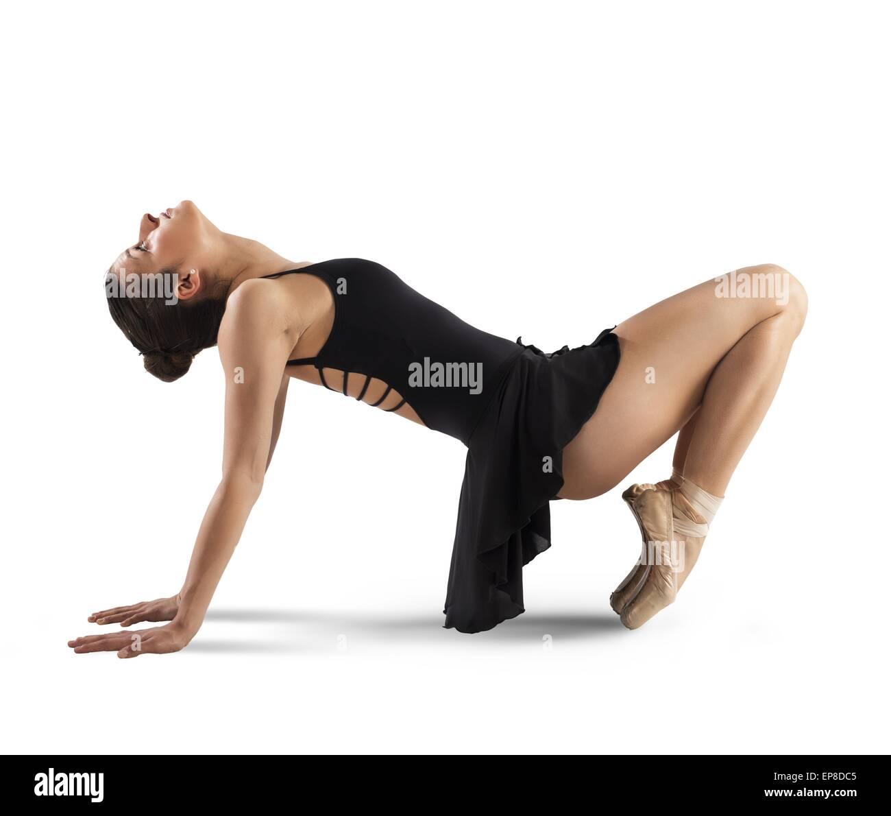 Neoclassical dancer - Stock Image