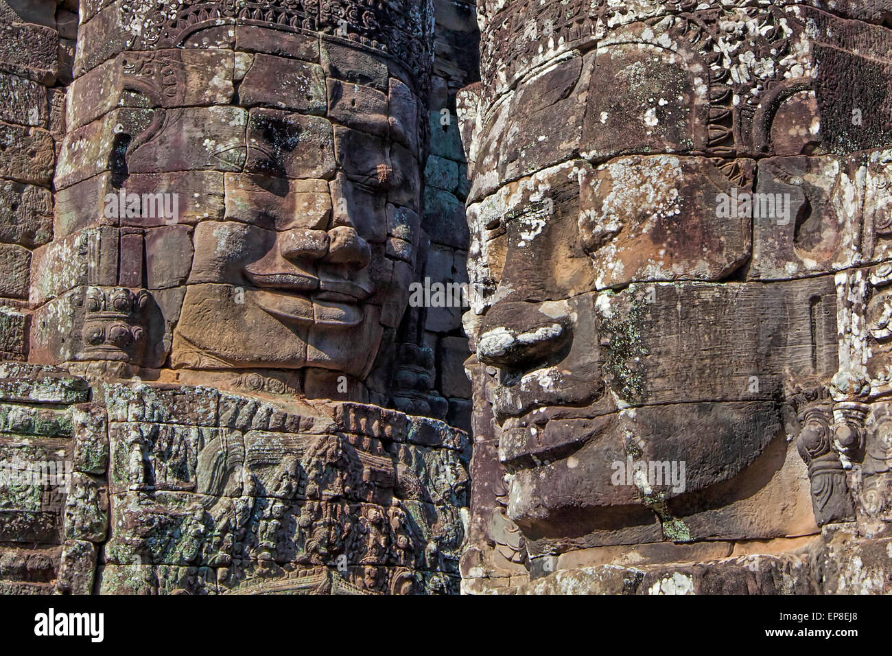 Angkor Archaeological Park - Stock Image