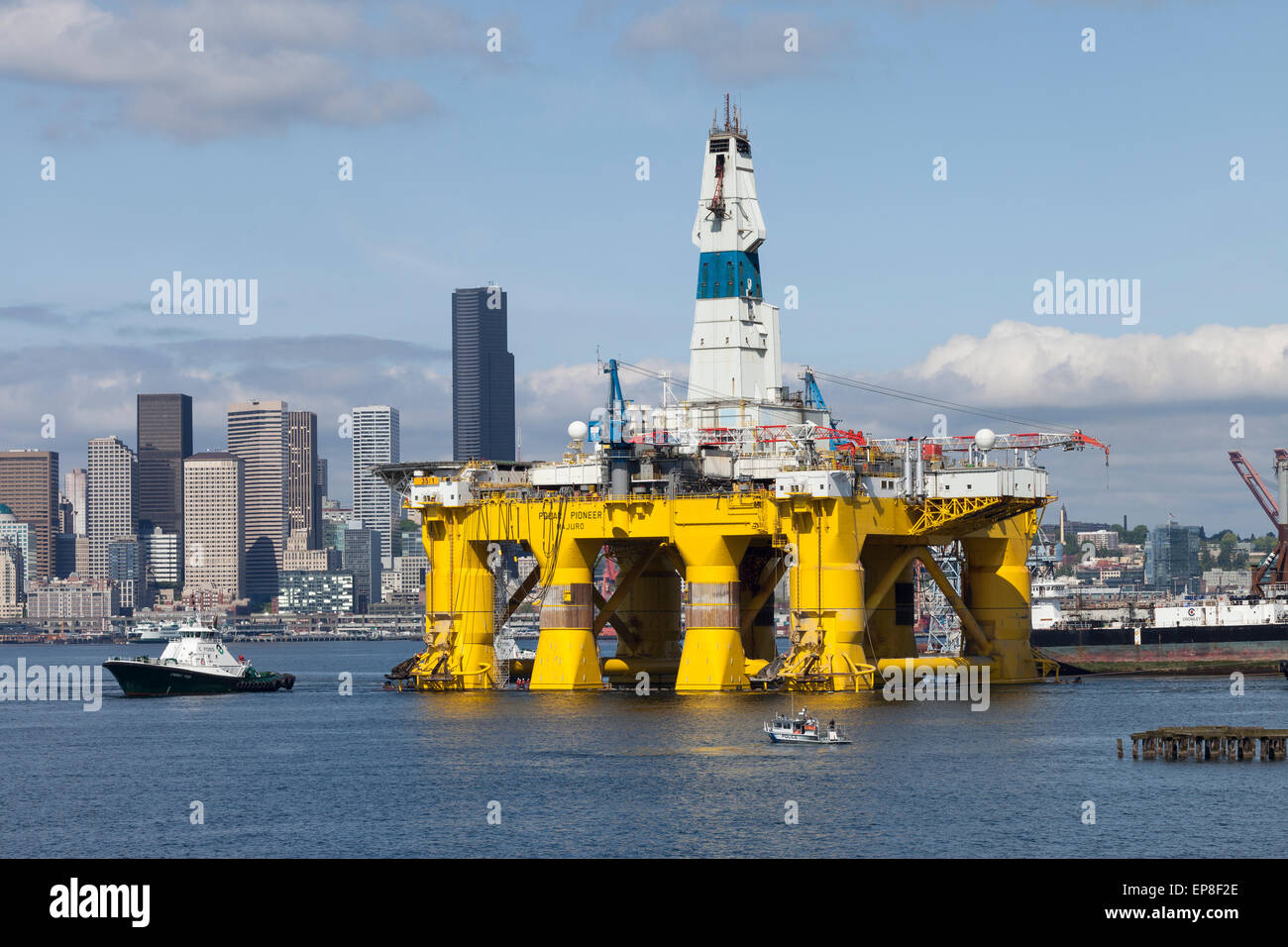 Pat on the Back |Transocean Shell Rigs