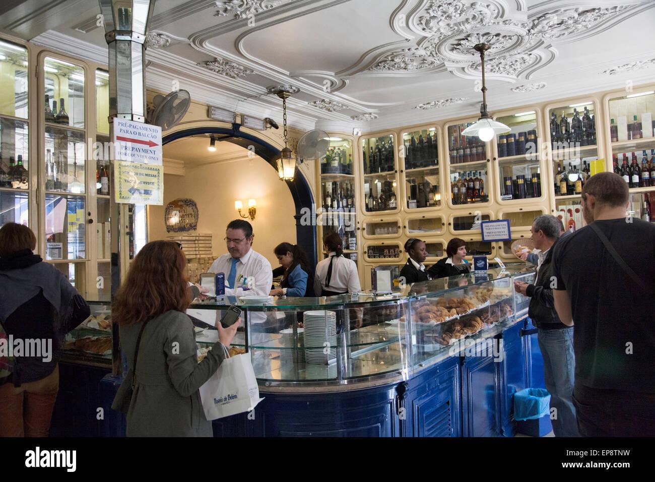 Pasteis De Belem Shop Specializing In Pasteis De Nata