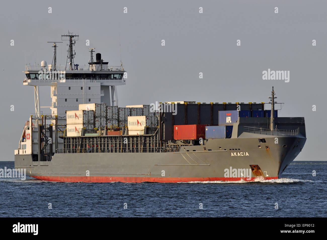 Containerfeeder Akacia - Stock Image
