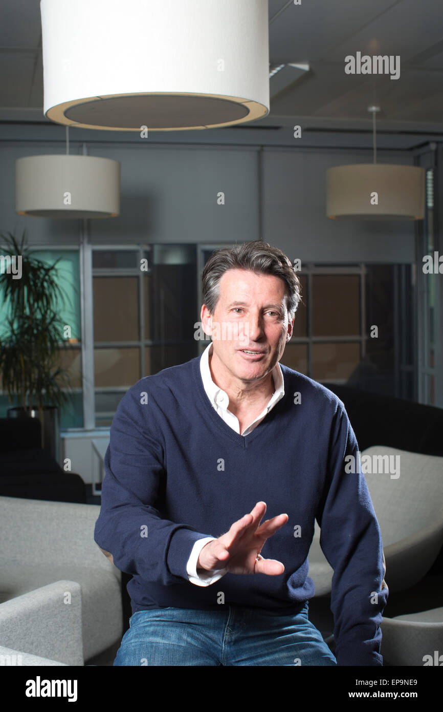 Sebastian Coe, Lord Coe, British Politician and former track and field athlete, LOndon, United Kingdom - Stock Image