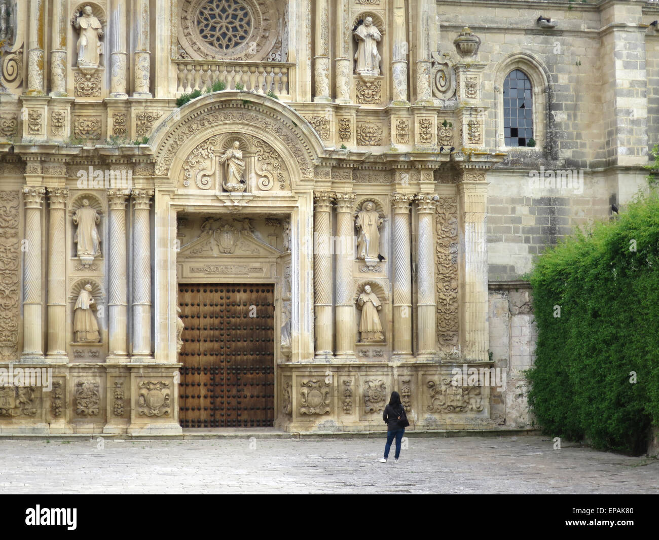 Charterhouse of Jerez de la Frontera, also called the Cartuja de Santa María de la Defensión - Stock Image