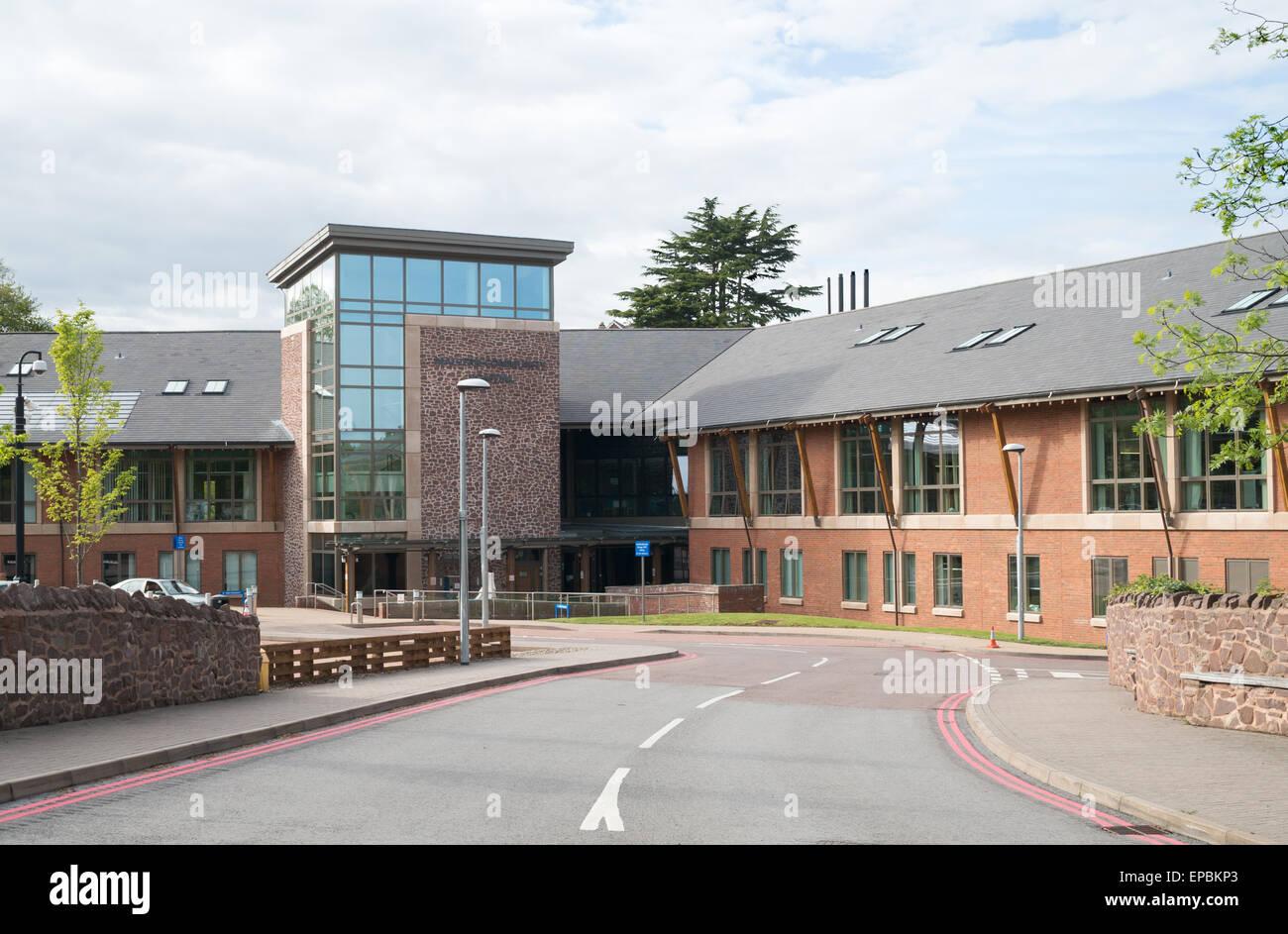 Malvern community hospital , Worcestershire, England, UK - Stock Image