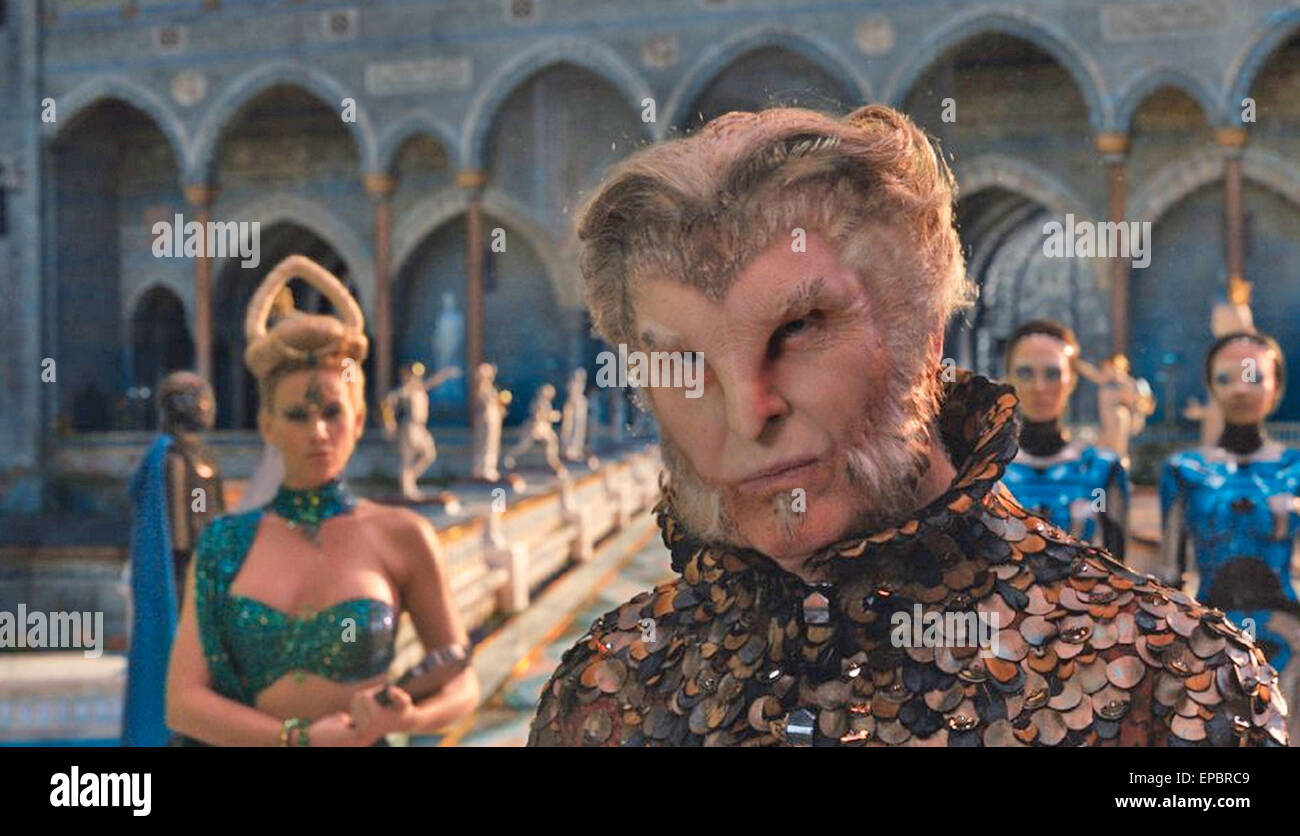 JUPITER ASCENDING 2015 Warner Bros film with Tim Pigott-Smith - Stock Image