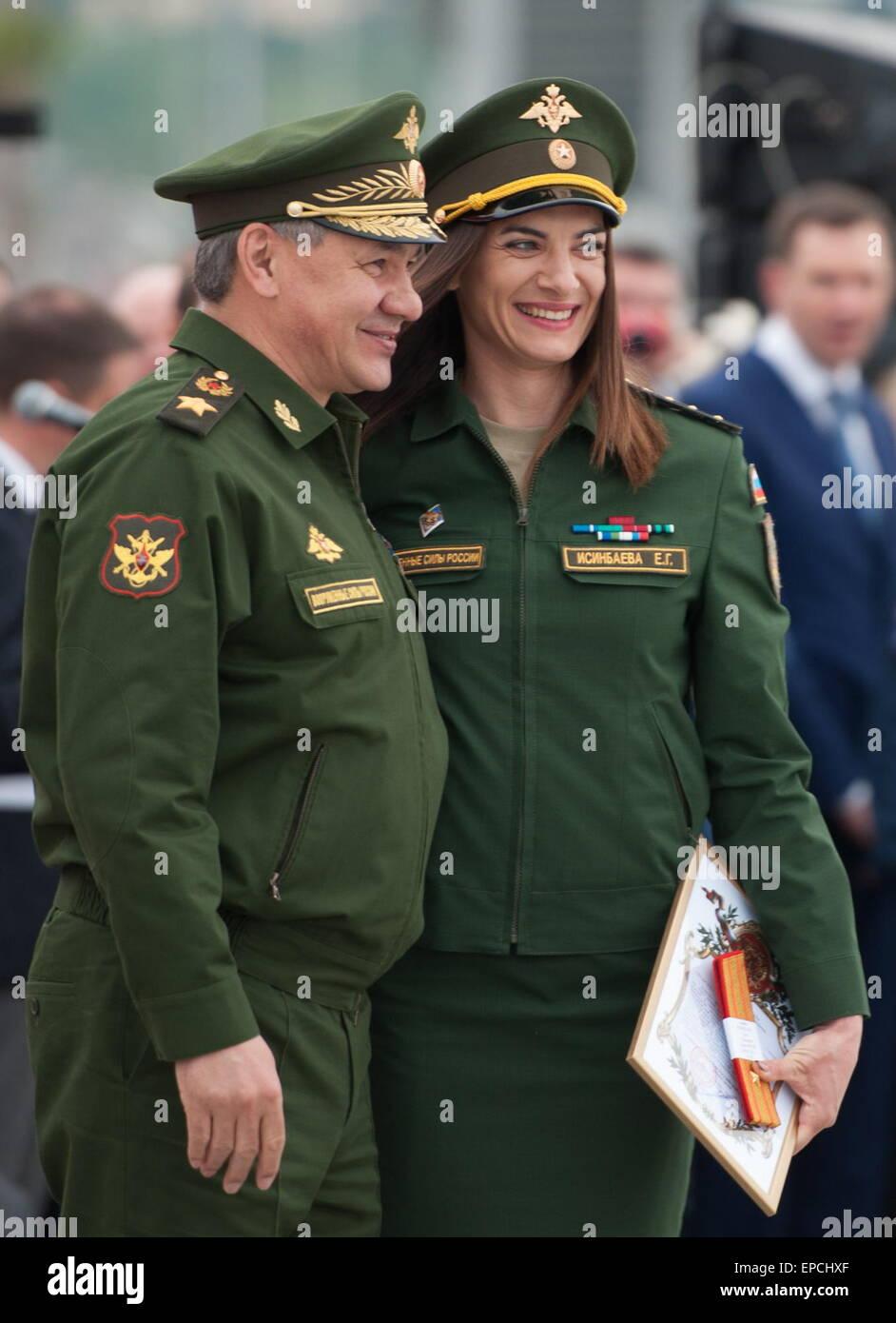 Elena Isinbayeva entered the military service under the contract 06.05.2015 43