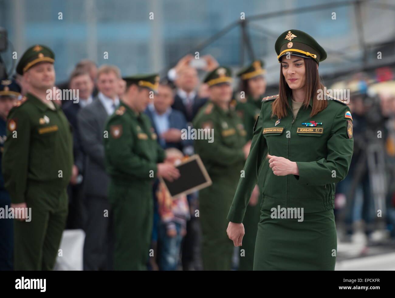 Elena Isinbayeva entered the military service under the contract 06.05.2015 83