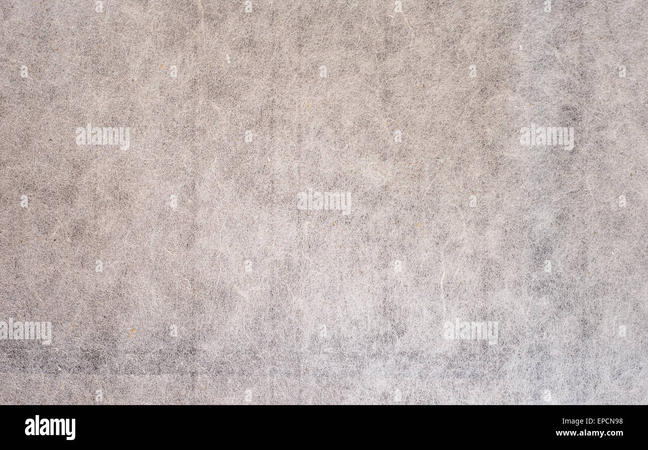texture of vintage rice paper with space for text or image - Stock Image