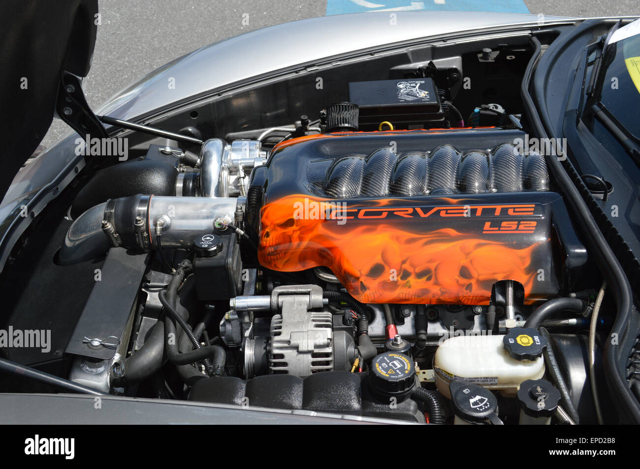 Supercharged Engine Stock Photos & Supercharged Engine Stock