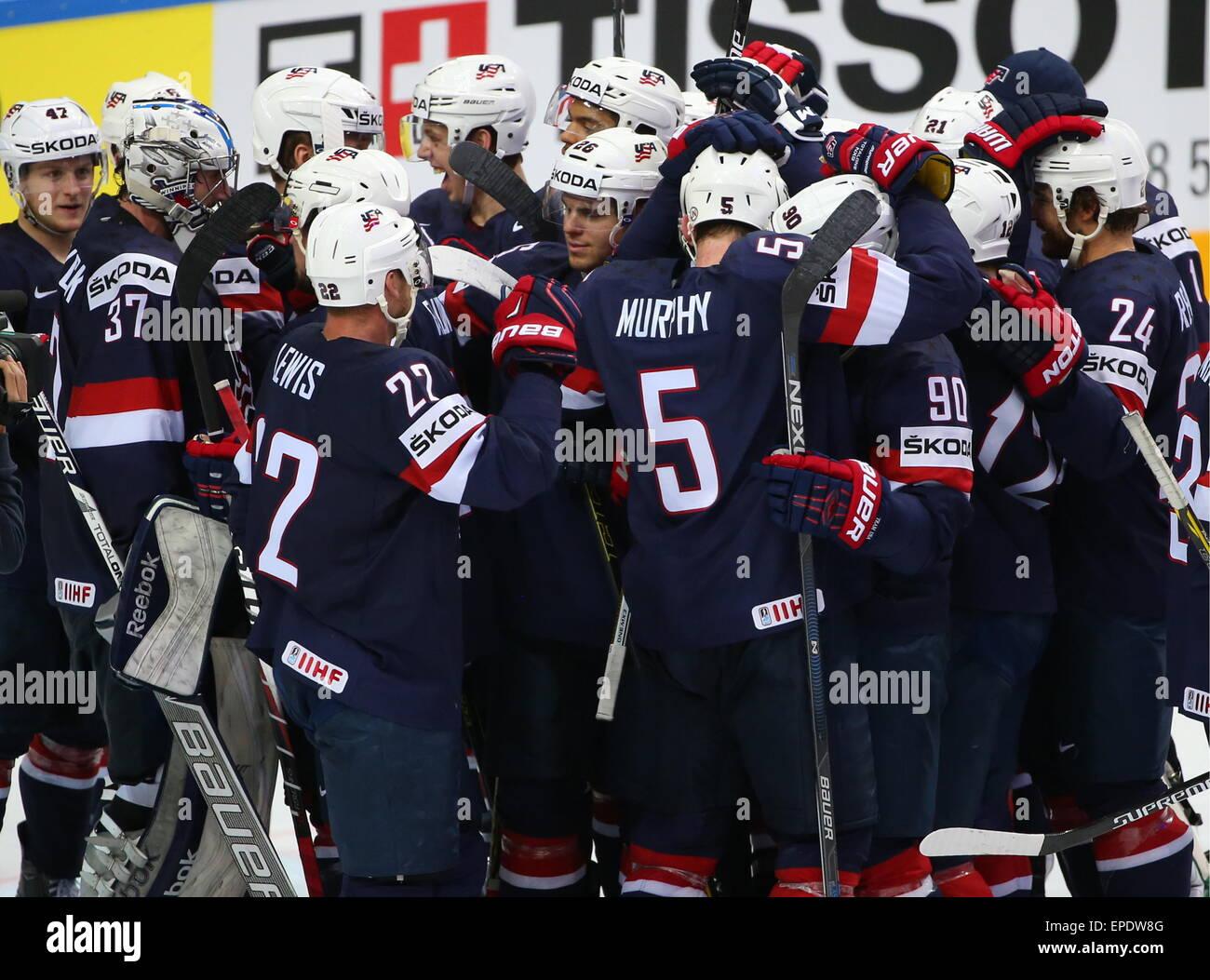 Sammeln & Seltenes Fahne Banner 2015 Ice Hockey World Championship Czech Republic Prag Ostarva #16 Eishockey