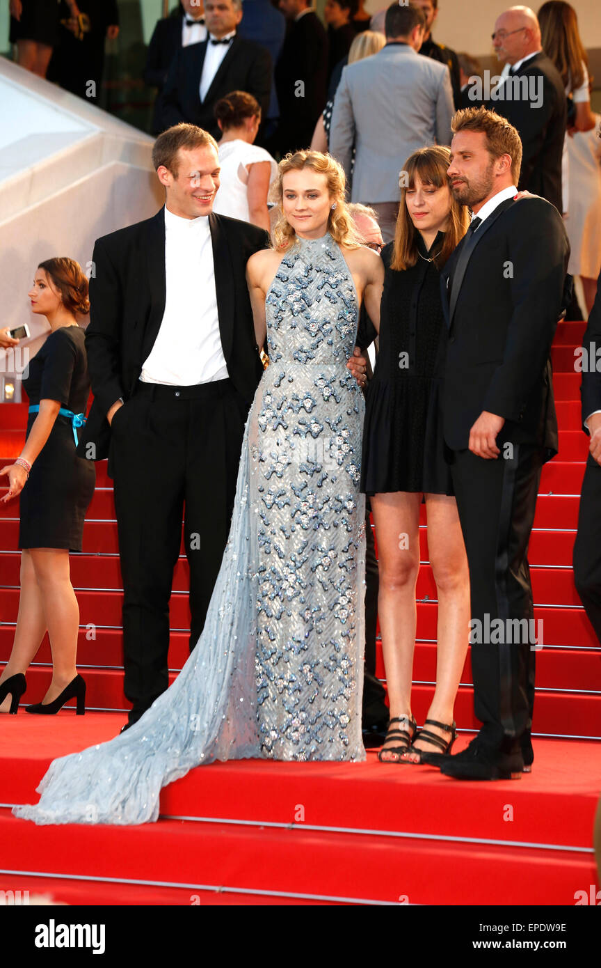 Paul Hamy Diane Kruger Alice Winocour And Matthias Schoenaerts Stock Photo Alamy