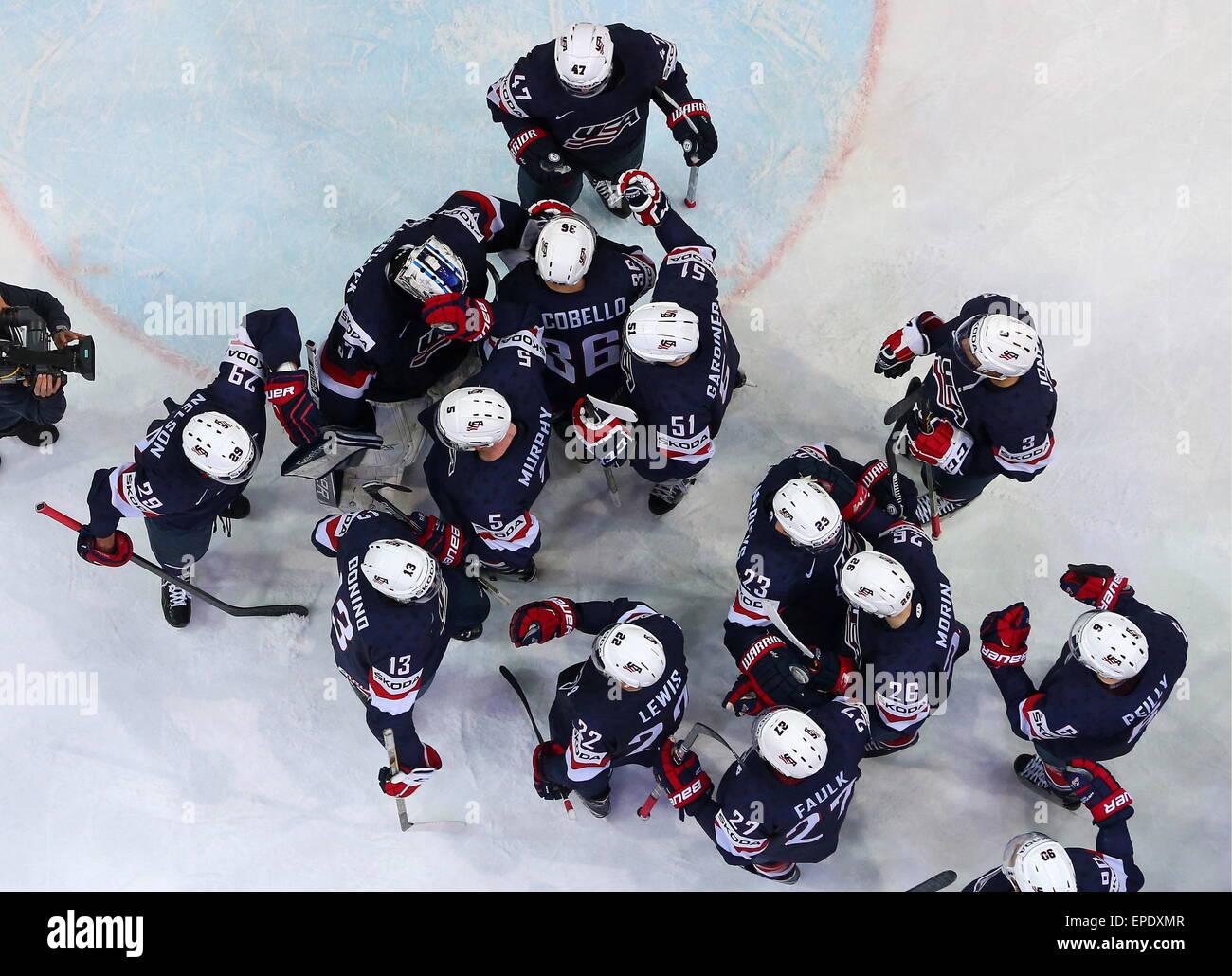 Sammeln & Seltenes Fahne Banner 2015 Ice Hockey World Championship Czech Republic Prag Ostarva # 27