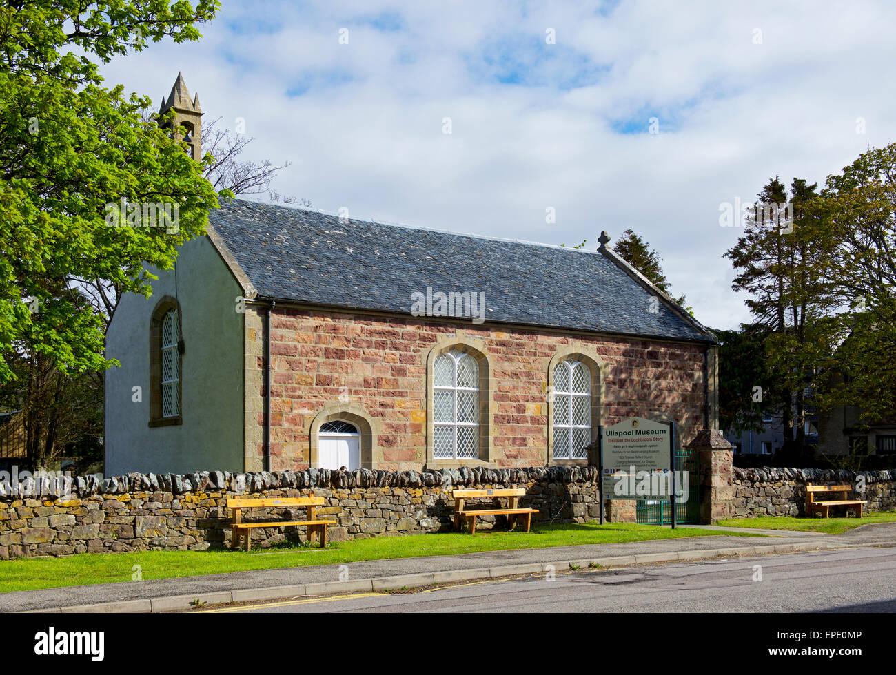 The Ullapool Museum, Ross-shire, Scotland, UK - Stock Image