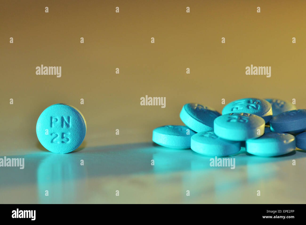 Phenergan tablets - Stock Image