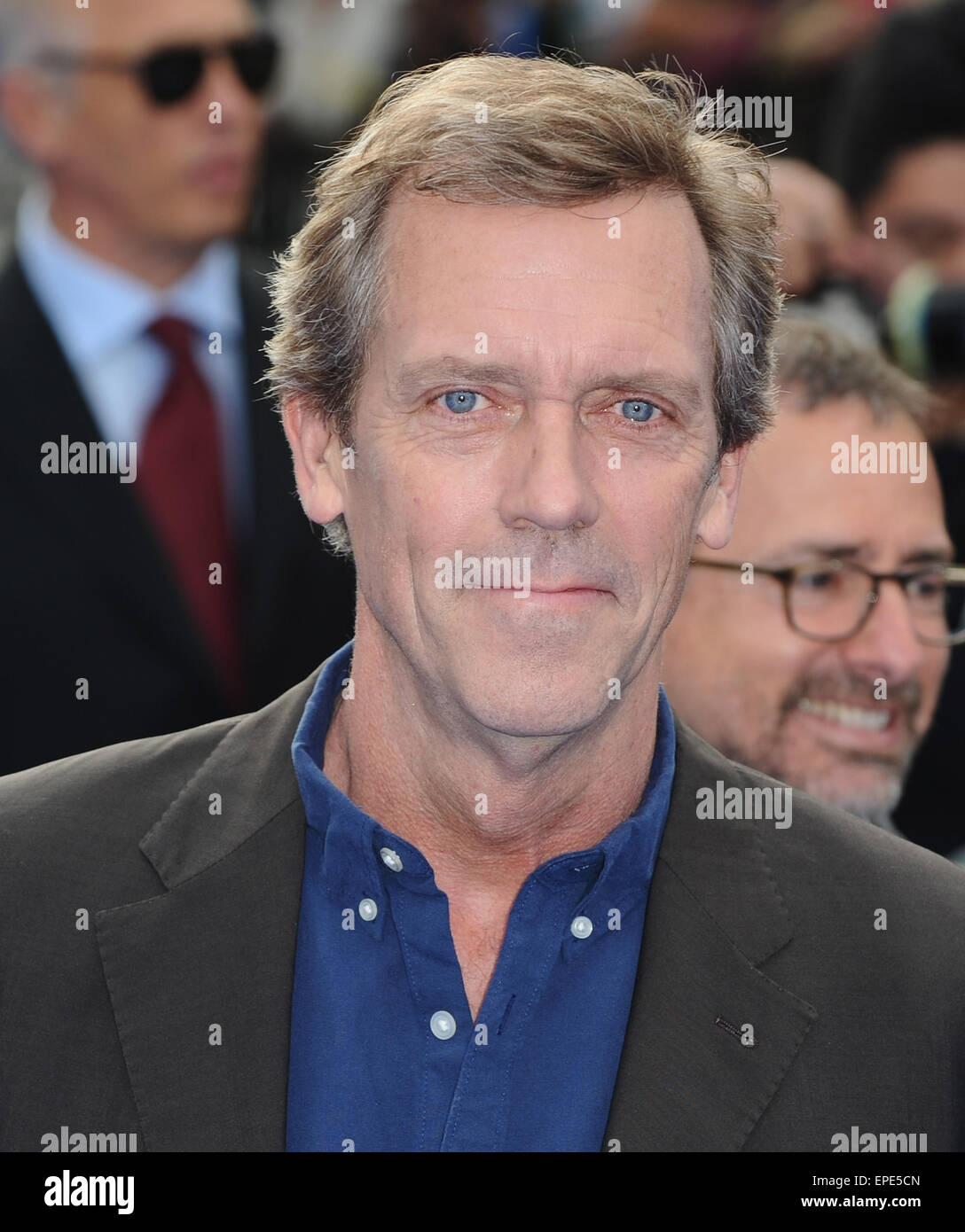 London, UK, UK. 17th May, 2015. Hugh Laurie attends the European Premiere of 'Tomorrowland: A World Beyond' - Stock Image