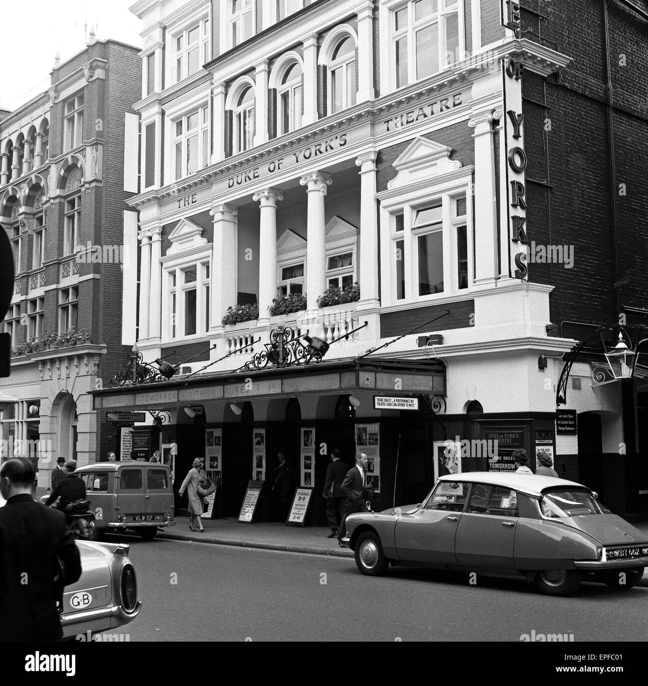The Duke of Yorks theatre in the West End, central London. 18th July 1960. - Stock Image