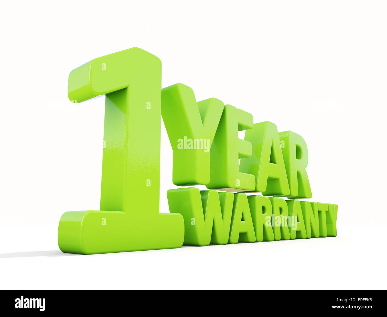 Warranty - Stock Image