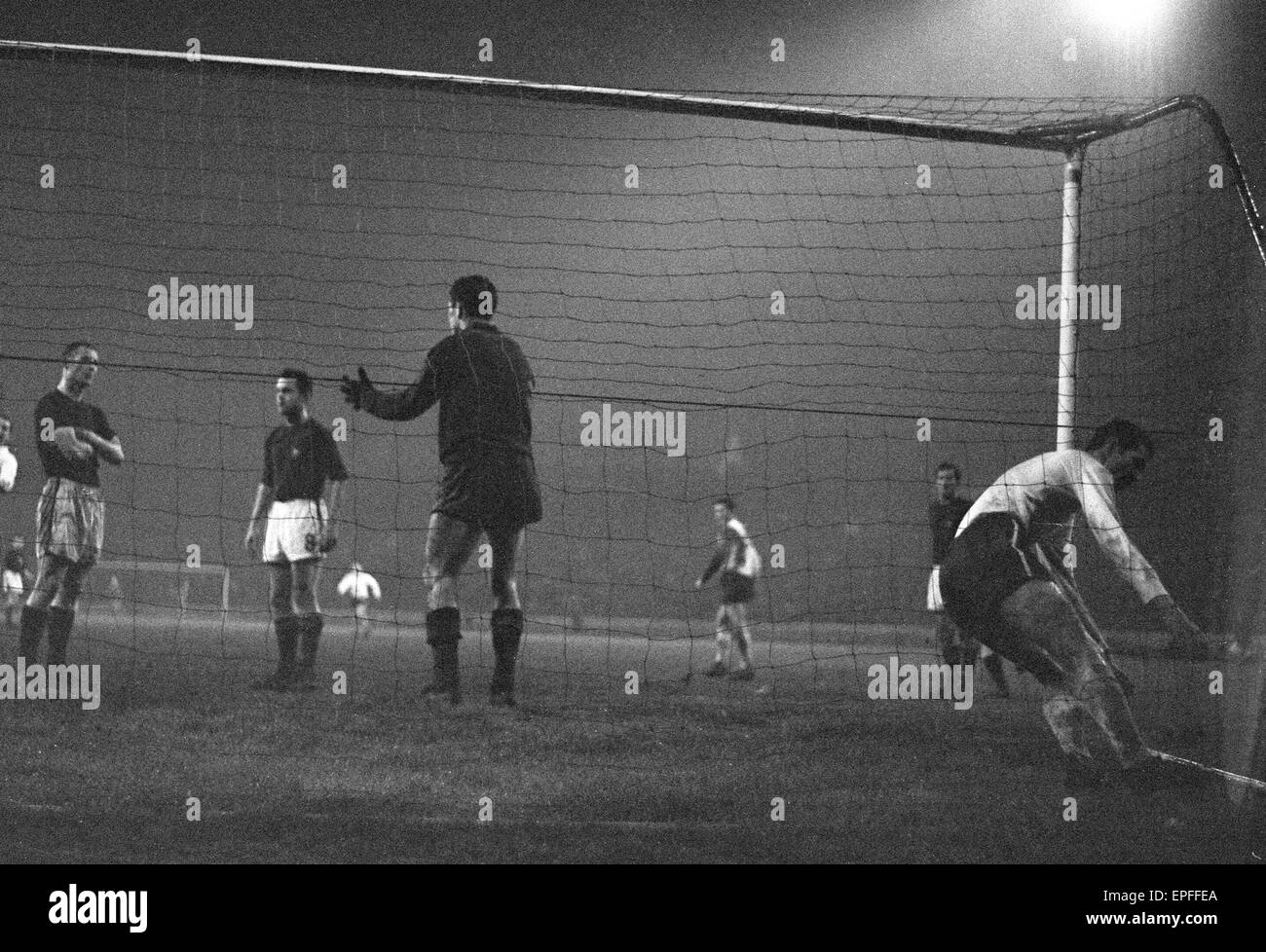 Inter Cities Fairs Cup Semi Final Second Leg match at Stamford ...