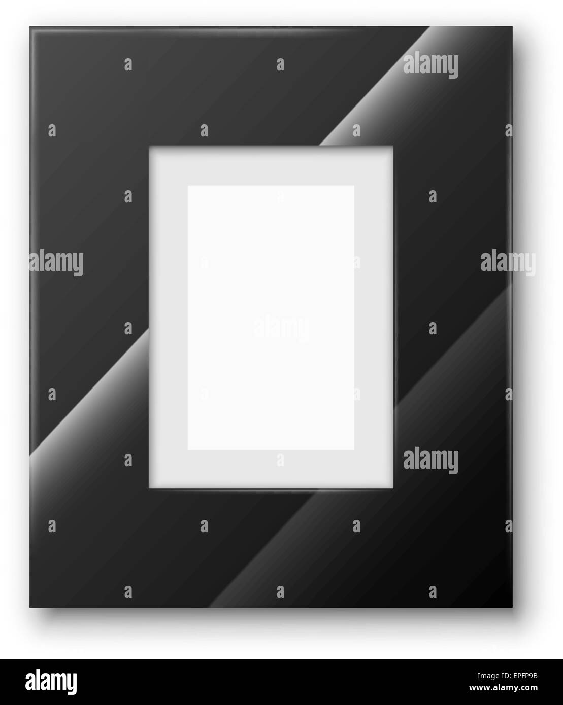 Frame black - Stock Image